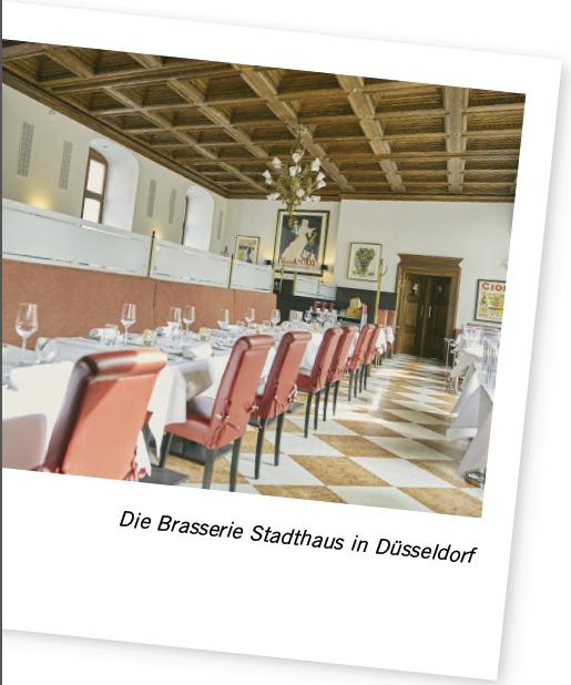 Fresh + Friends - Blog - Brasserie Stadthaus Düsseldorf