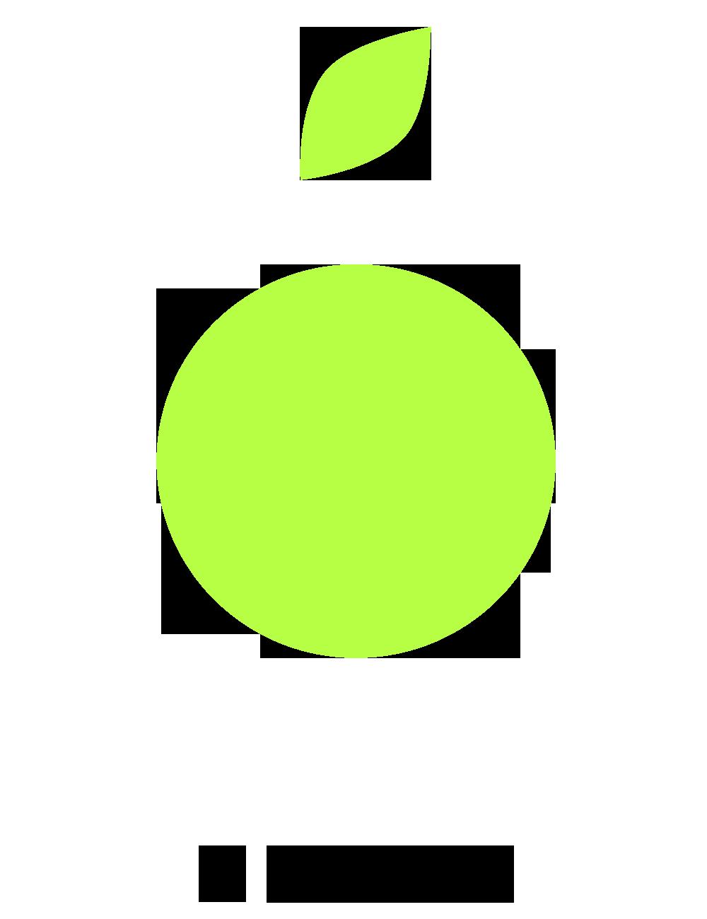Fresh + Friends - Frischekonzept - Anbau Icon mit Text schwarz
