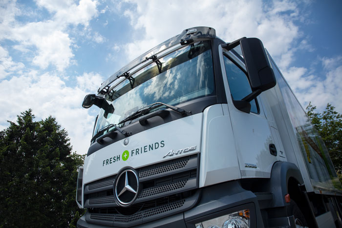 Fresh + Friends - Frischekonzept - Logistik - LKW