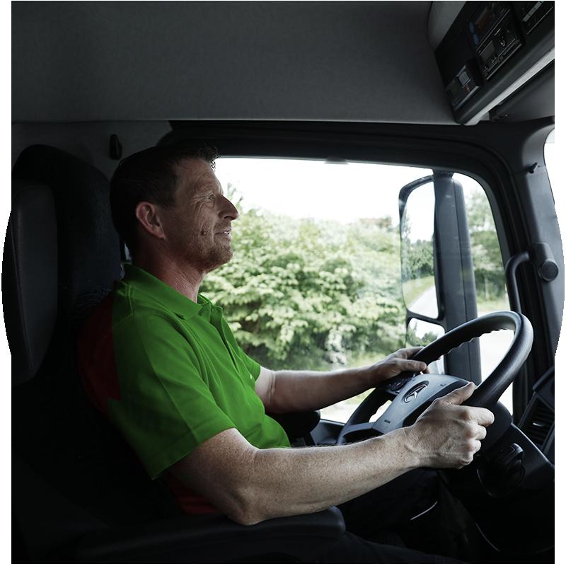 Fresh + Friends - Frischekonzept - Logistik - LKW-Fahrer Christian
